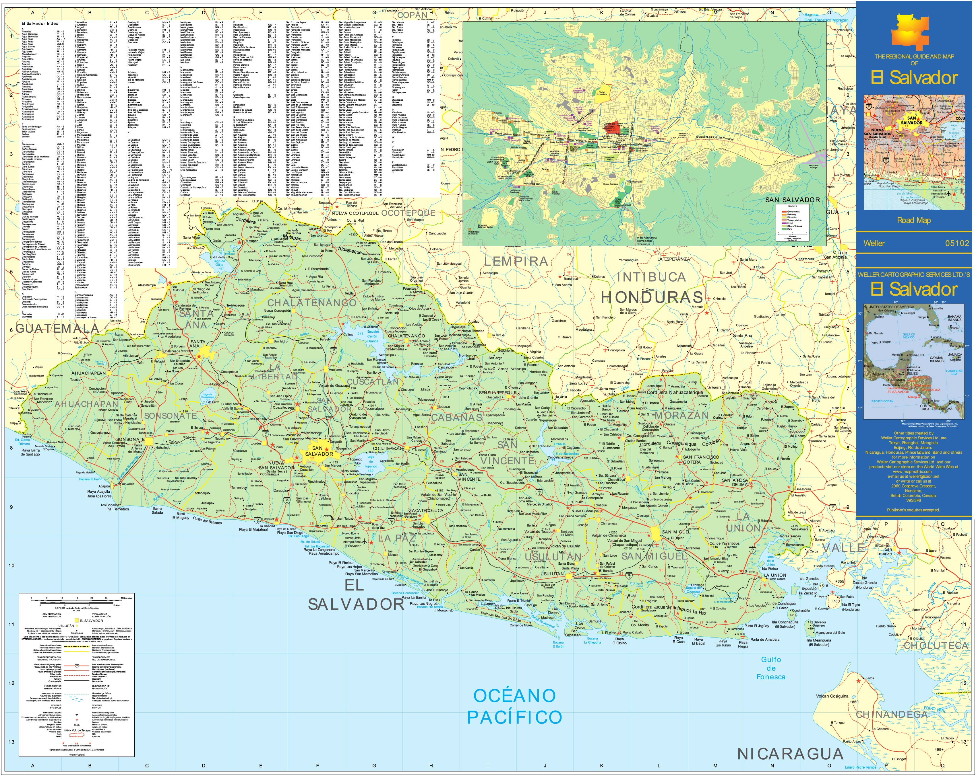 Maps of Salvador | Map Library | Maps of the World