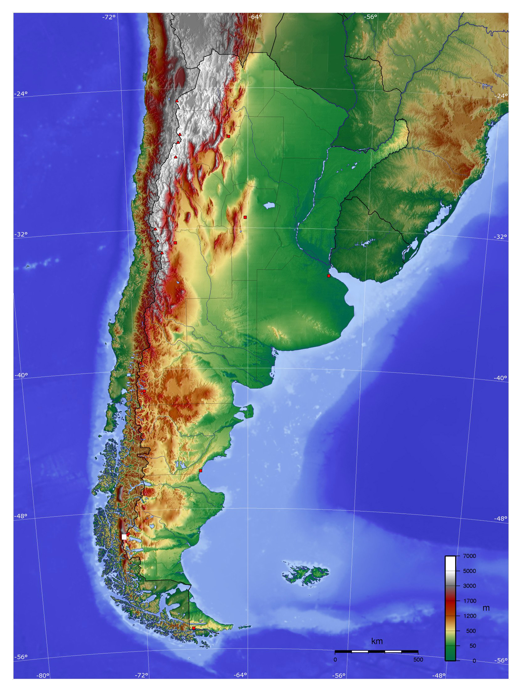 Maps of Argentina | Map Library | Maps of the World