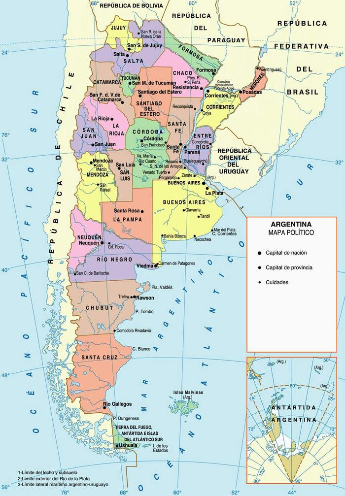 Maps of Argentina Map Library Maps of the World
