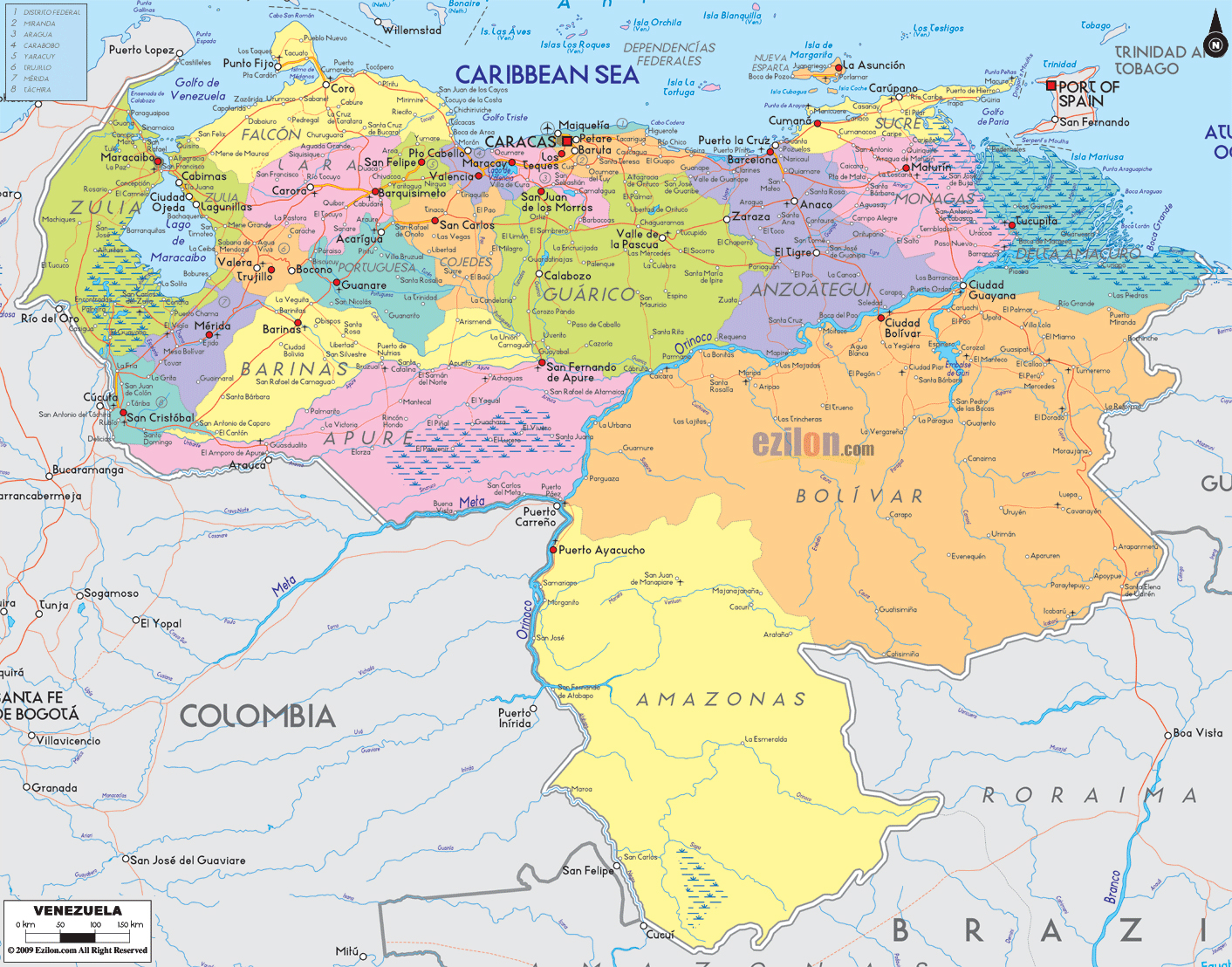 Map Of South America Free Large Images Backpacking Pinterest - Amazon river map of south america